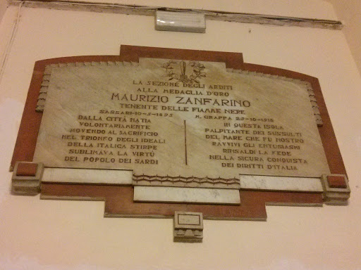 targa maurizio zanfarino