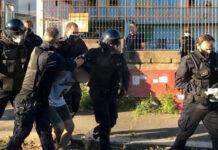 Roma, blitz della Polizia