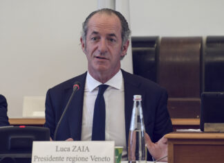 Zaia, governatore
