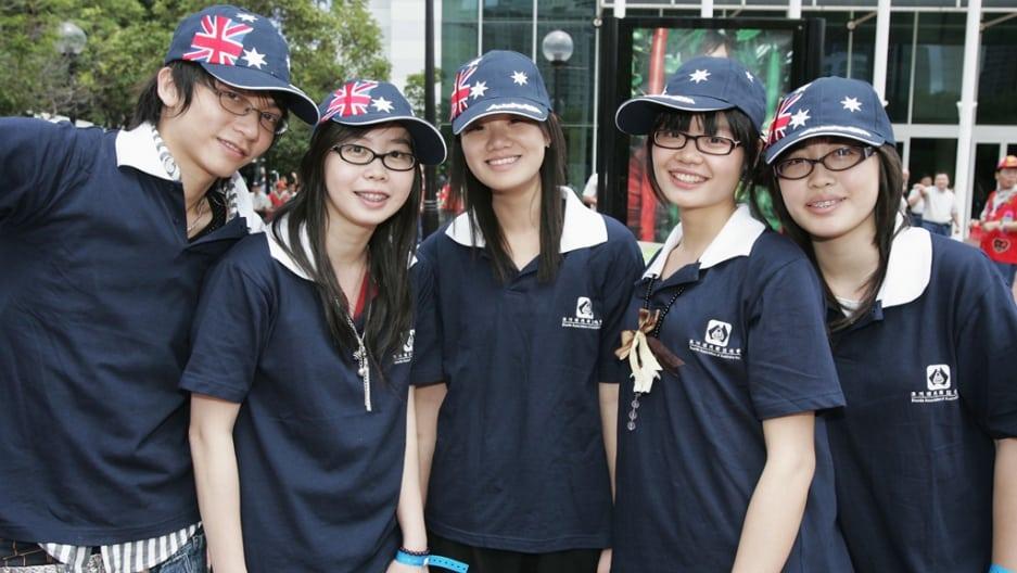 Australia, studenti cinesi