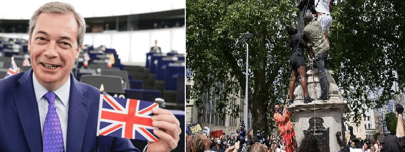 Black lives Matter per Farage sono come i talebani