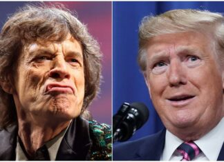 Jagger Rolling Stones Trump