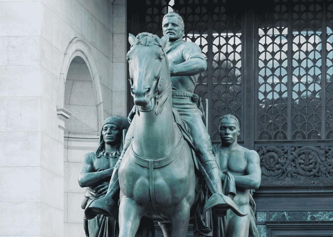 Roosevelt, statua