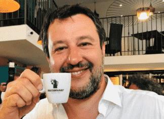 salvini social destra caffè buongiornismo