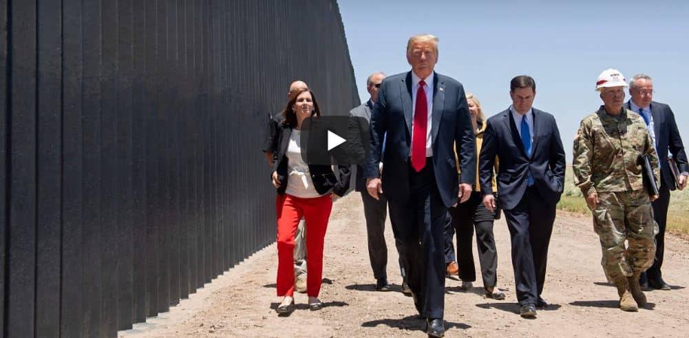 Trump, muro messico