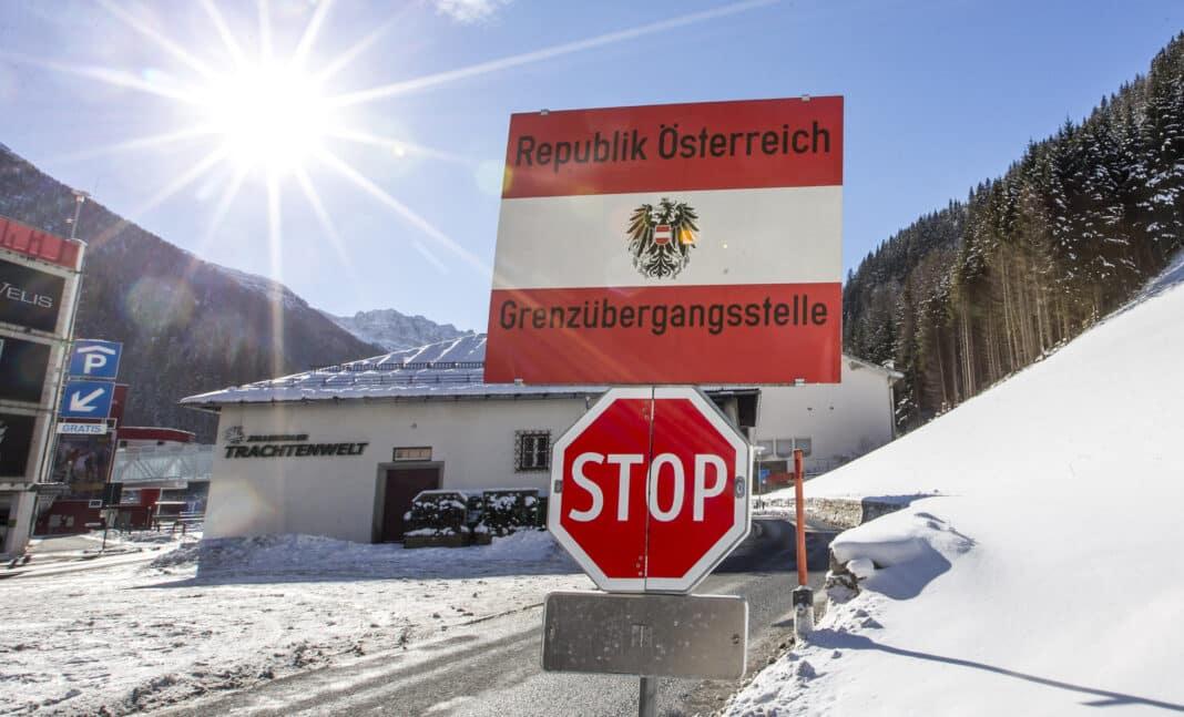 Austria, confine