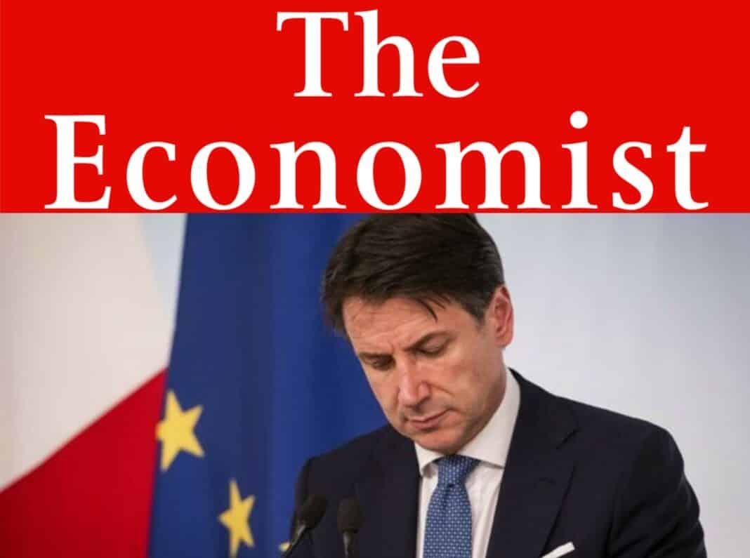 Economist, Conte out