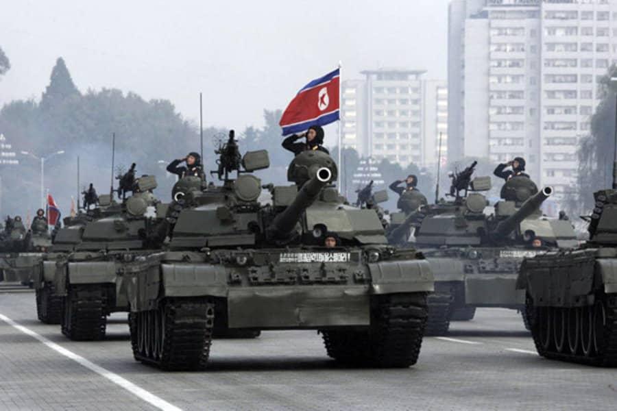 Corea del Nord, esercito