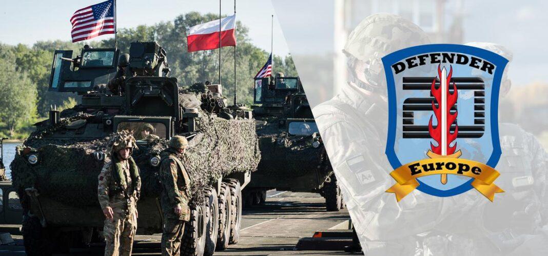 Defender Europe, truppe