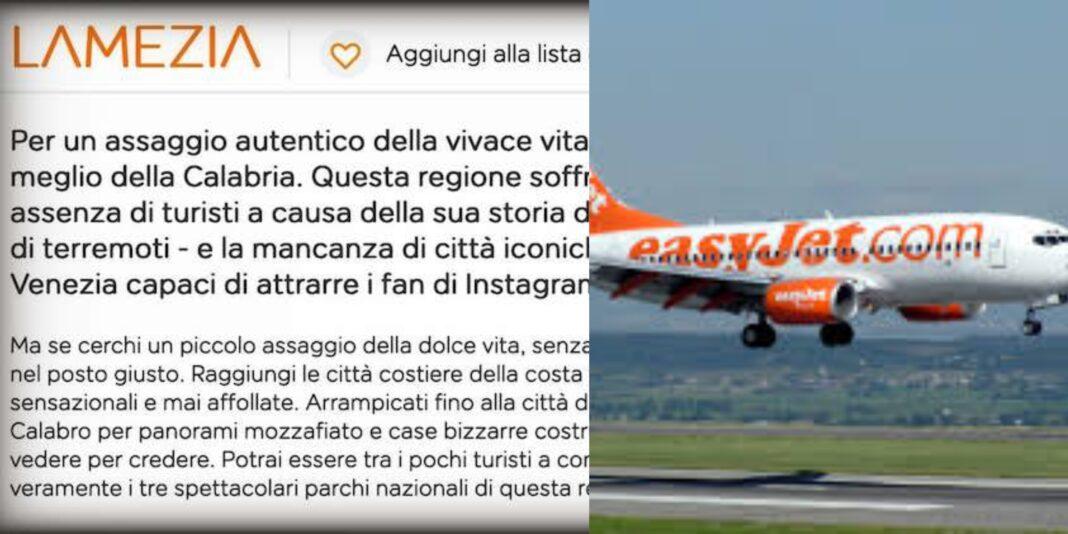 Calabria, EasyJet