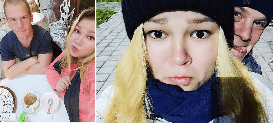 Genitori dei gemellini in Russia