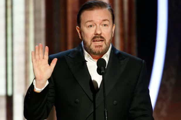Ricky Gervais contro attivisti Black lives matter