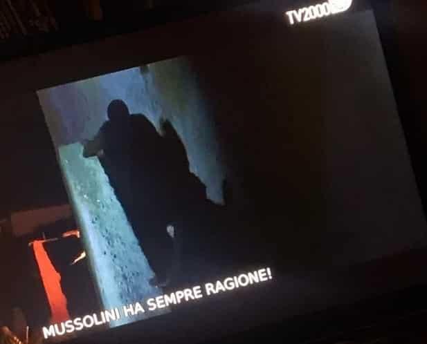 mussolini tv2000