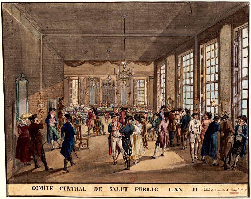 comitato salute pubblica rivoluzione francese