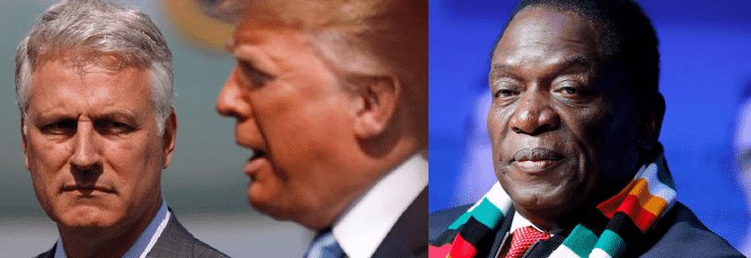 Zimbabwe fomenta proteste Usa