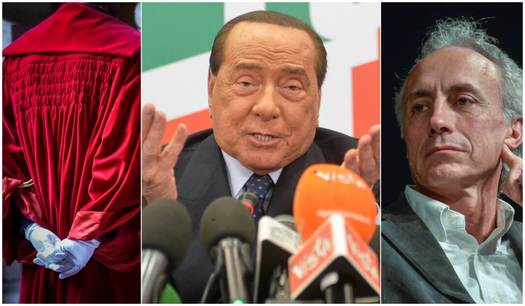 Berlusconi toghe travaglio