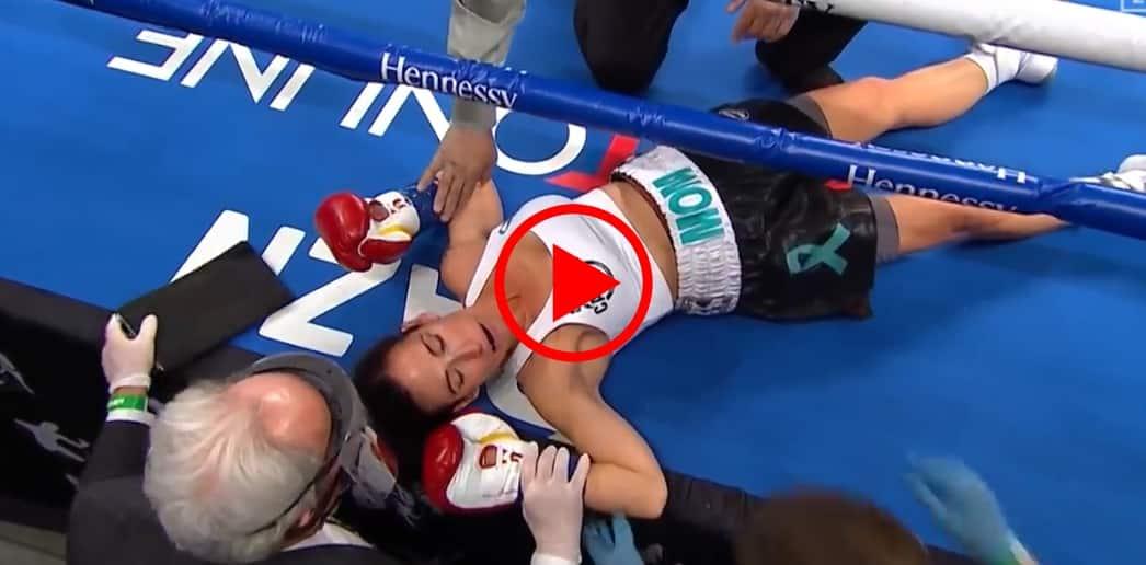 Estrada Atkins boxe femminile