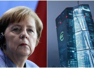 Angela Merkel Bce