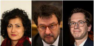 Salvini e senatori 5 stelle