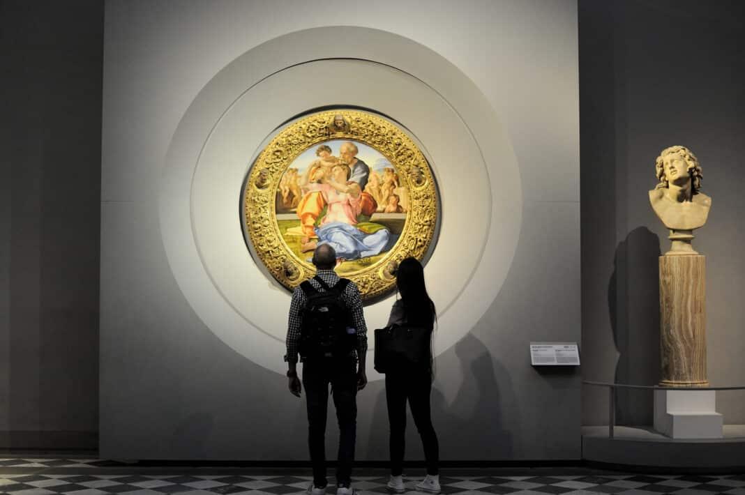 Uffizi, black