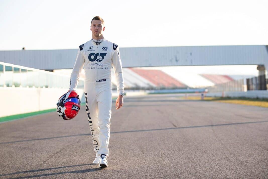 Kvjat, pilota Formula 1