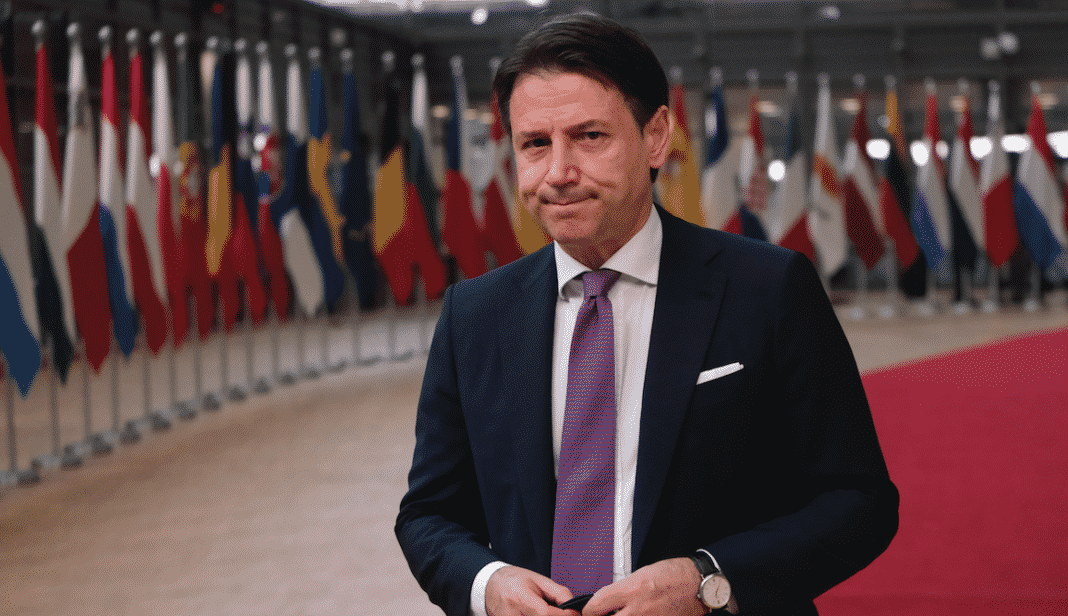 conte consiglio europeo recovery fund