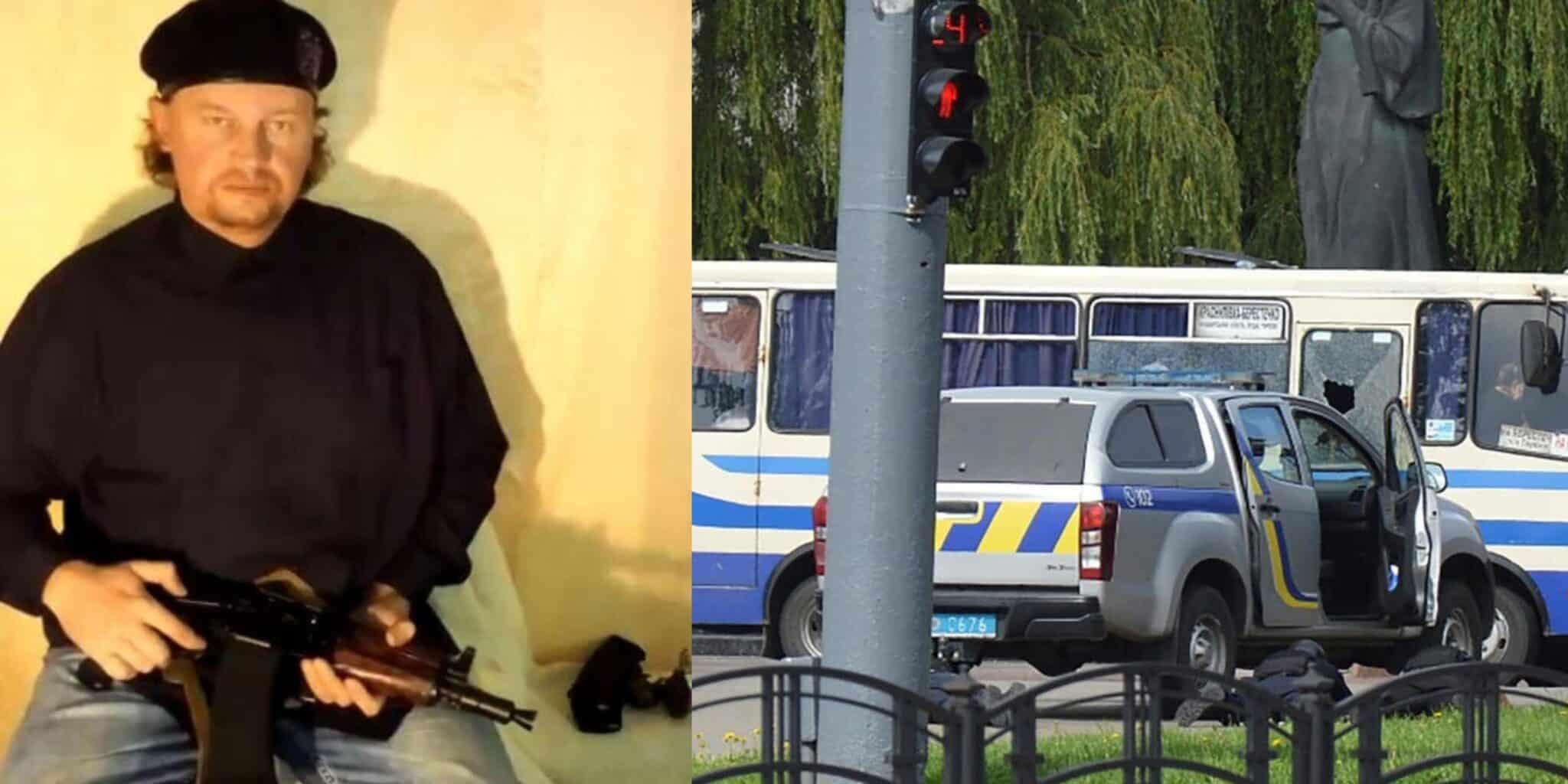Ucraina: uomo armato prende 20 ostaggi su autobus