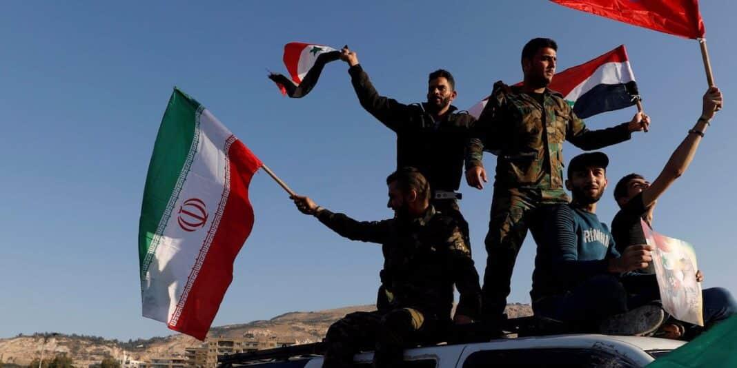 Siria, bandiere