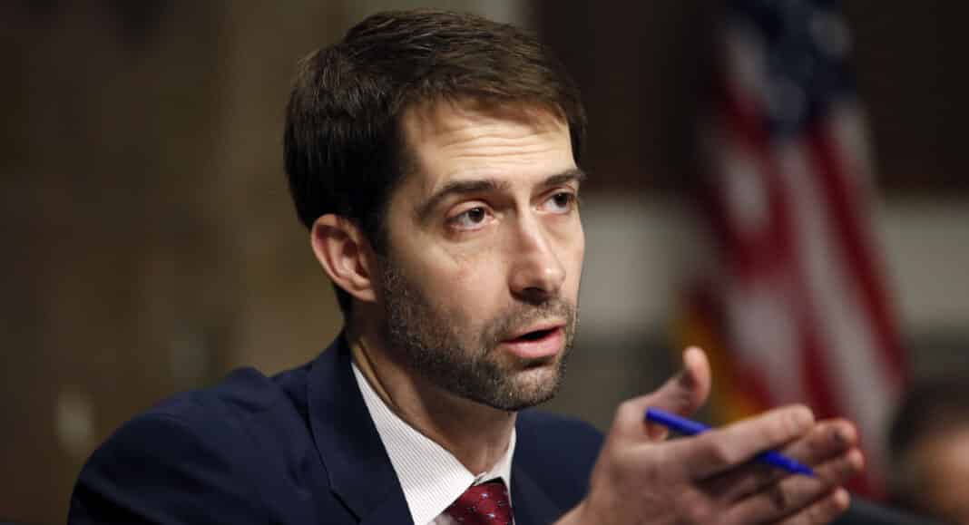schiavitù, Tom Cotton