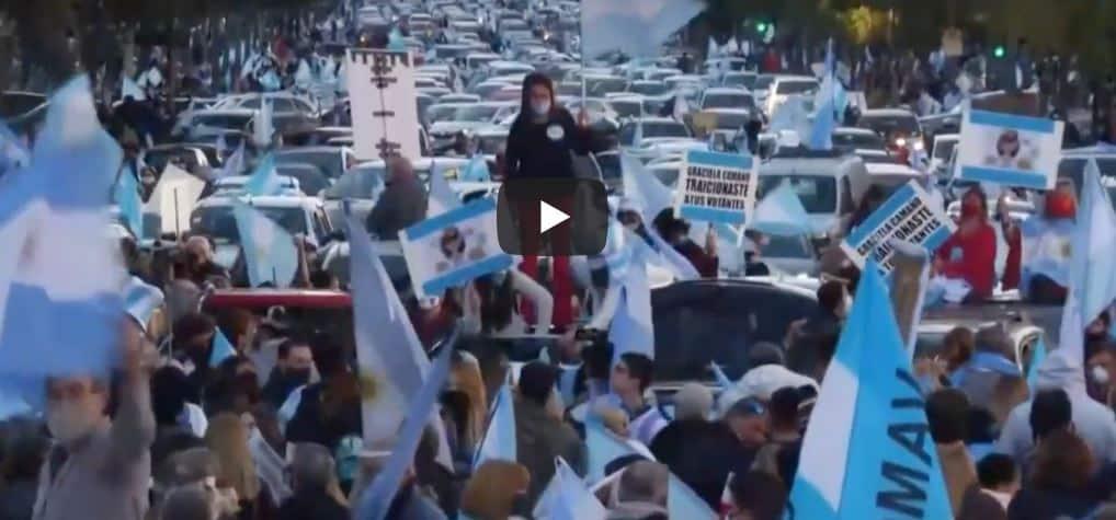 Argentina, protesta