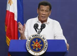 Duterte, presidente filippine