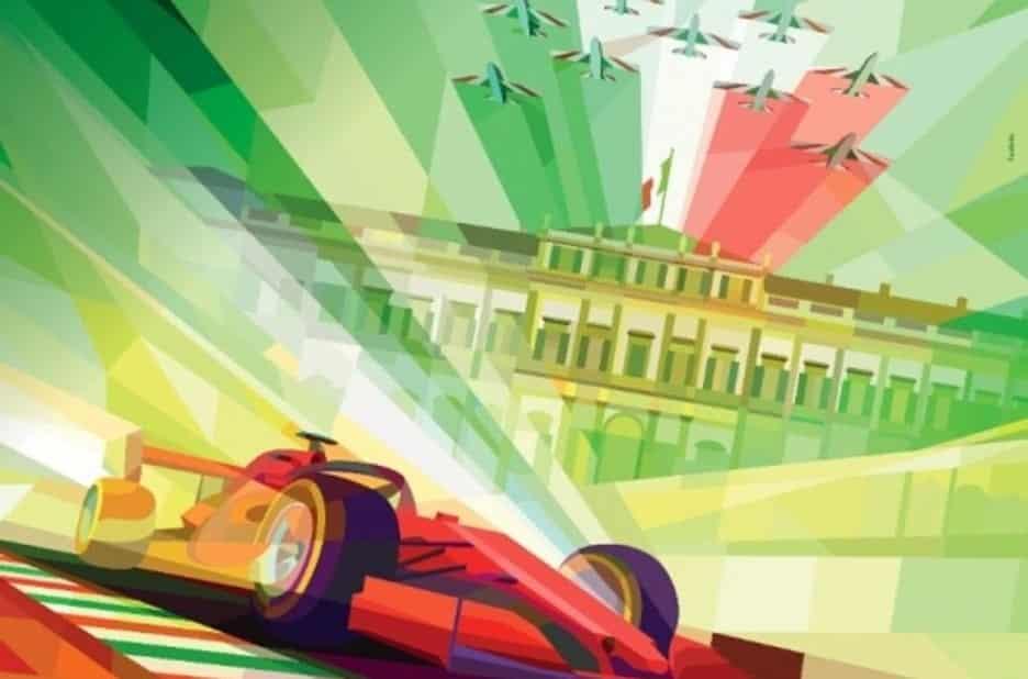 Poster del Gp di Monza 2020
