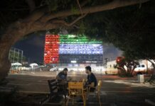 Israele, bandiera emirati