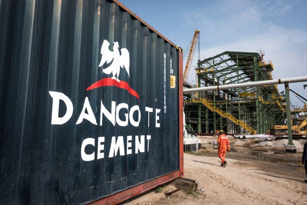 Cemento Dangote in Nigeria