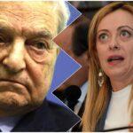 George Soros Giorgia Meloni