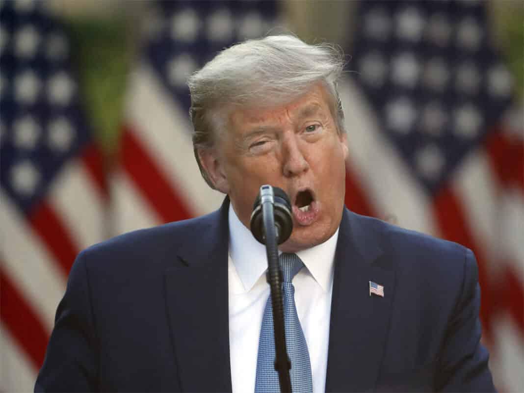 Trump, gaffe