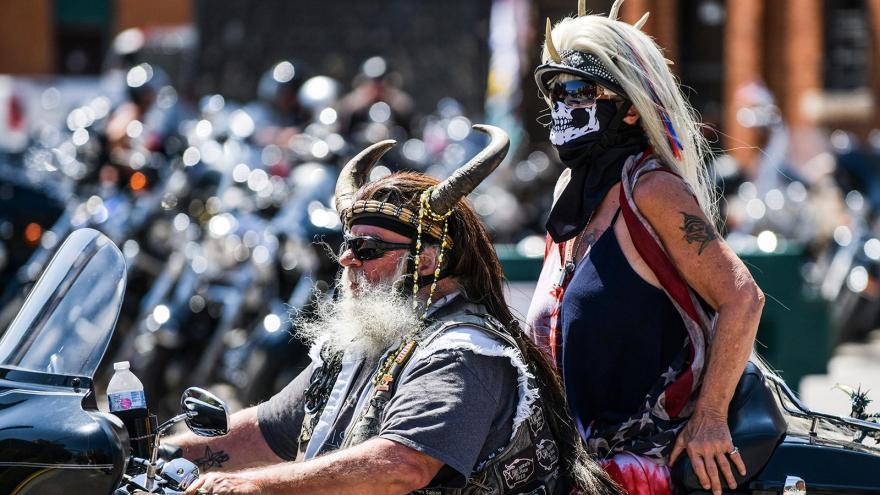 bikers sturgis indiani d'america