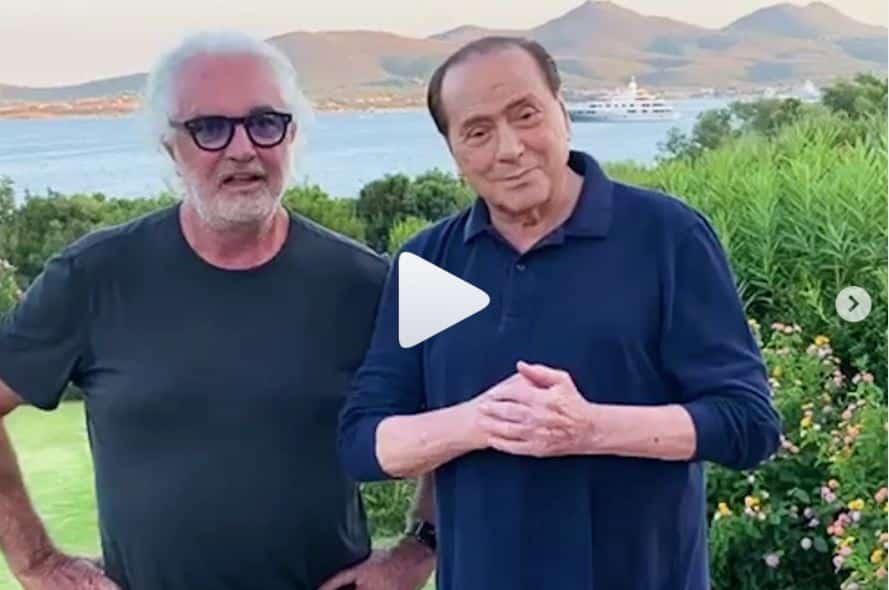 Briatore, con Berlusconi