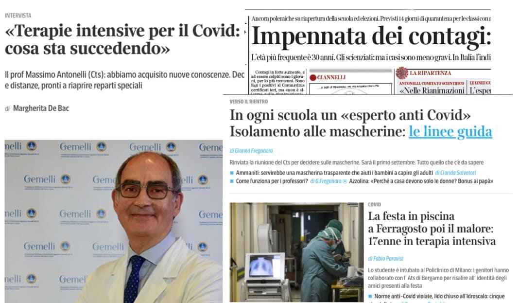corriere allarmismo coronavirus covid