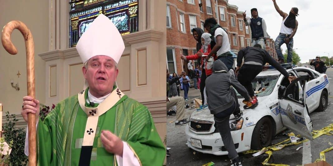 Black lives matter, vescovo