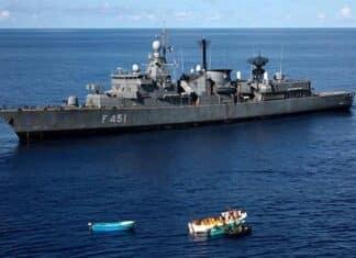 grecia e turchia fregata limnos scontro