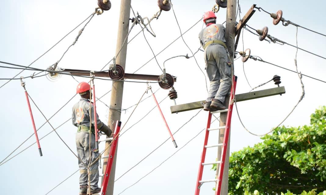 Nigeria, rete elettriche