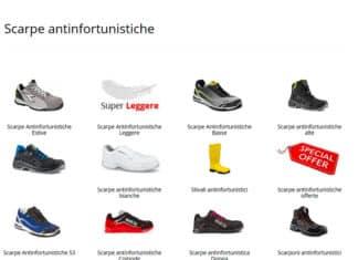 modelli di scarpe antinfortunistiche