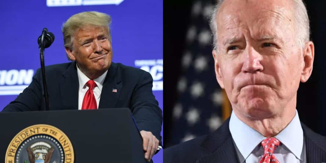Trump, contro Biden