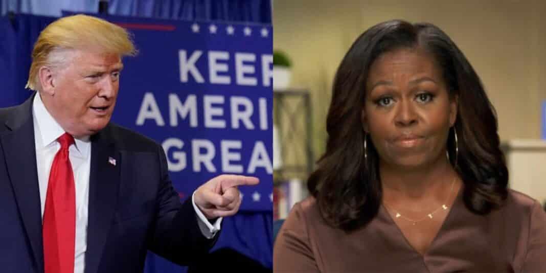 Trump, contro Michelle Obama