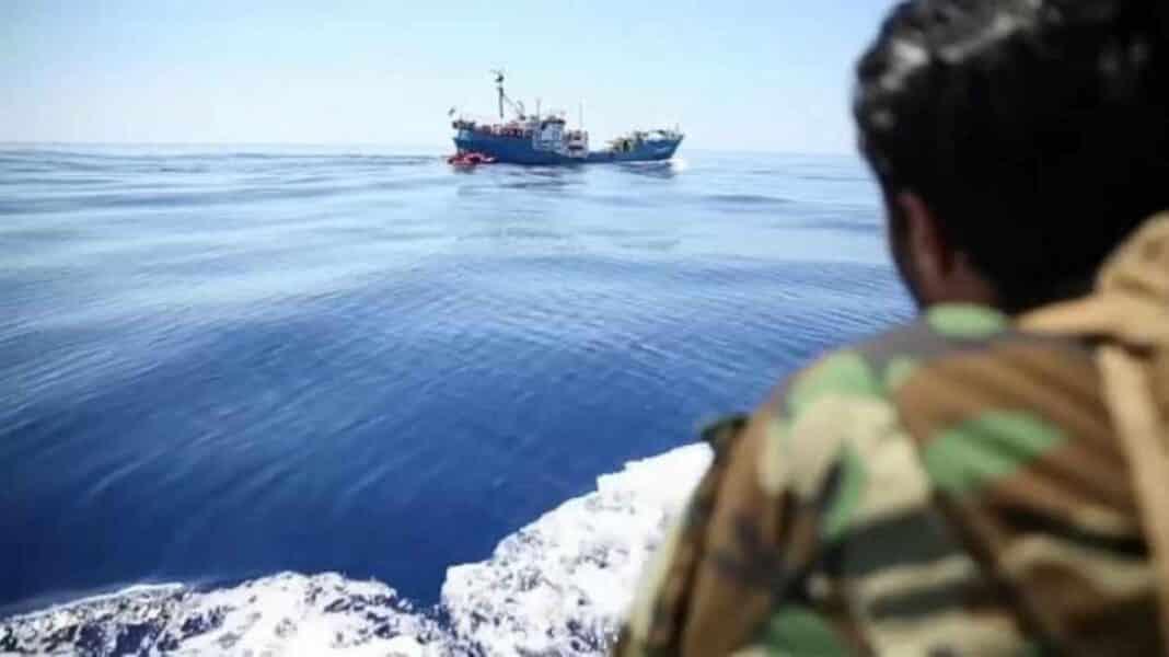 Libia, pescatori