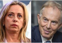 Giorgia Meloni Tony Blair
