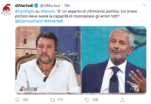 Carofiglio asfalta Salvini