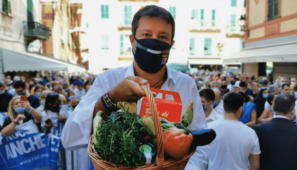 Salvini selfie centrodestra