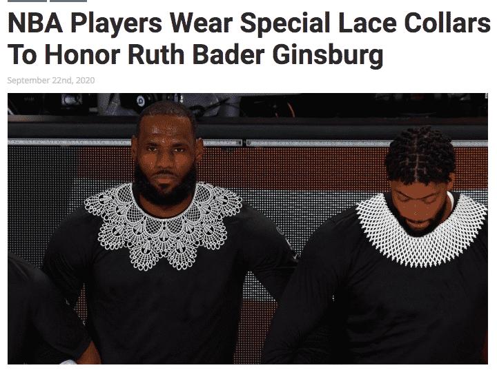 """""""I giocatori Nba indossano colletti di pizzo"""". La Stampa dà per vera una bufala satirica"""